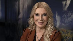 Työpsykologian tohtori Helena Åhman.