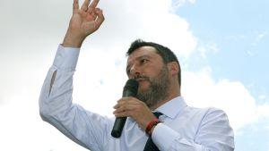 Legas ledare Matteo Salvini.