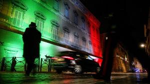 Senaten i Italien sammanträder i Palazzo Madama