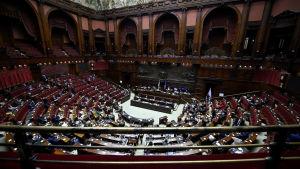 Underhuset i det italienska parlamentet