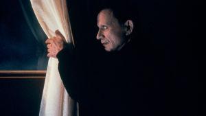 Robert Blake kurkistaa ulos ikkunasta elokuvassa Lost Highway