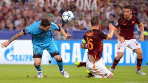 Lionel Messi och Daniele de Rossi möts igen.