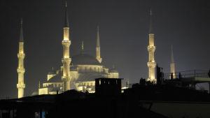 Moskén Hagia Sofia i Turkiet.