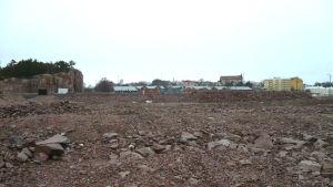 Det planerade bostadsområdet på Drottningberg.