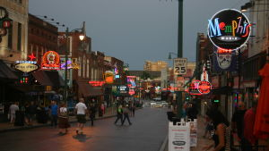 Beale street i Mdemphis