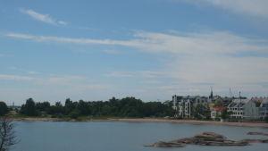 En bild över den plats där Hangö kunde få ett nytt hotell.