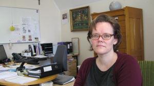 Chefläkare och tf sjukvårdsdirektör Pia-Maria Sjöström