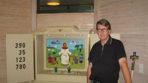 Hans Boije, rektor för Kristliga folkhögskolan i Nykarleby