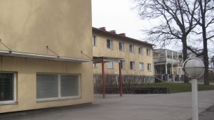 Hagahemmet vårdar åldringar i Ekenäs centru.