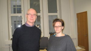 Marcus Suojoki och Pia-Maria Sjöström