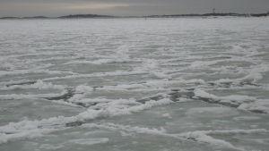 Svag is utanför Hangö.