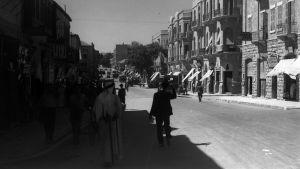 Näkymä Jaffa-kadulta Jerusalemista 1935
