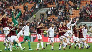 AC Milan firar.