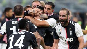 Juventus vann toppmötet i Italien.