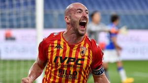 Benevento öppnade säsongen med seger i Serie A.
