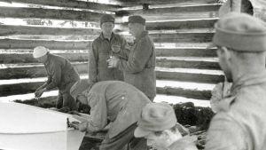 Kertomus siitä, kuinka itsepäiset suomalaiset toivat kaatuneensa kotiin haudattavaksi.