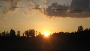 Sol i Ingå.