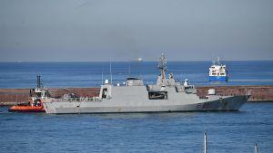 Italienska flottan, ett fartyg.