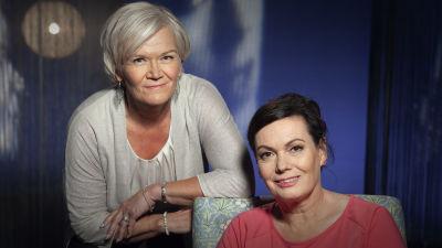 Anne Flinkkilä ja Satu Vasantola