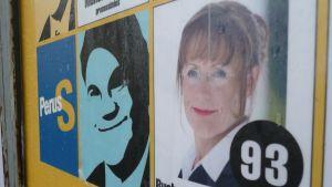Pirkko Ruohonen-Lerners valreklam under kommunalvalet 2008