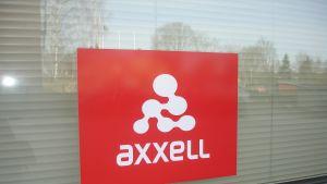 Utbildningsbolaget Axxells logo.