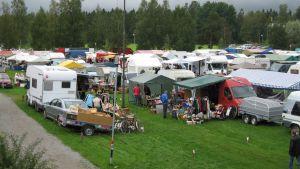 Juthbacka marknad i Nykarleby år 2008