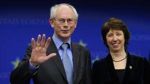 Herman Van Rompuy och Catherine Ashton