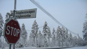 Riksväg 25 i Raseborg.