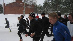 Uttagning till EU:s snabbinsatsstyrka på Nylands brigad