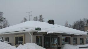 Aktias bankkontor i Bromarv