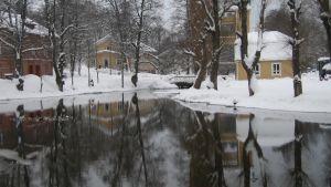 Vinter i Fiskars
