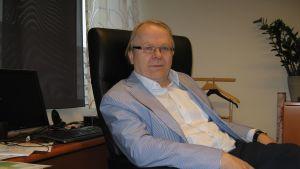 Katternö VD Stefan Storholm tror Fennovoima ligger bra till att bygga Finlands nästa kärnkraftverk