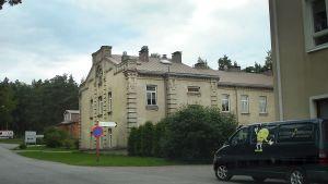 Byggnad på Ekåsens sjukhus.
