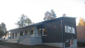 Den nybyggda delen av församlingshemmet i Karis togs i bruk hösten 2010.
