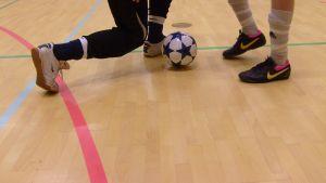 Futsalmatch 8.11.10 i Ekenäs: Ekenäs Sport Club mot Ruutupaidat från Vasa.