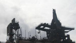 Masgunen är 25 meter hög.