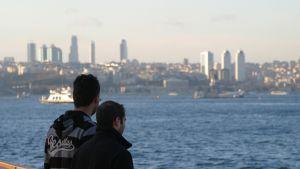 Vy över västra Istanbul