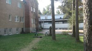 Harjulinna mottagningscentral i Sjundeå