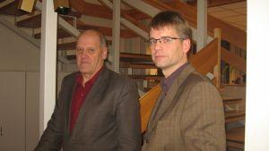 Stig Nyberg och Johan Westerlund (th)