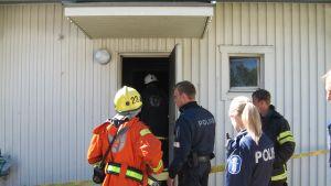 Lägenhetsbrand i Permo, Jakobstad