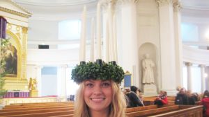 Finlands lucia 2012, Julia Hanhikoski
