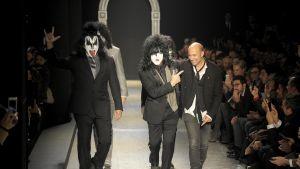 Kiss och John Varvatos.