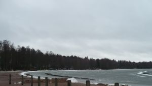 Aurlahti vid Lojo sjö.