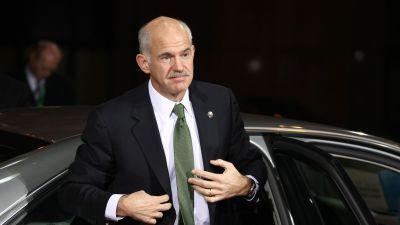 Papandreou i Bryssel i december 2009