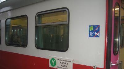 Y-tåg på Karis station