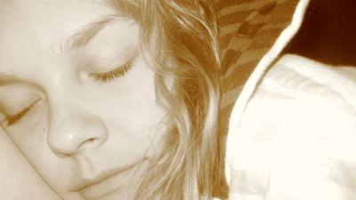 Anne sover sött