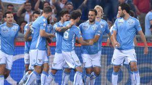 Lazio firar mål mot Juventus i Coppa Italia 2015.