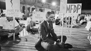 Mielenosoittajia Mississippin Atlantic Cityssä