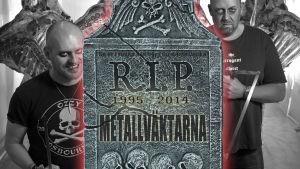 Metallväktarnas gravsten