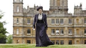 Maggie Smith som Violet Crawley i Downton Abbey.